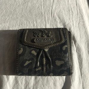 Mid-sized coach wallet